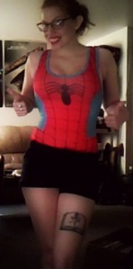 nerdy swimsuits, amazon, spider-man