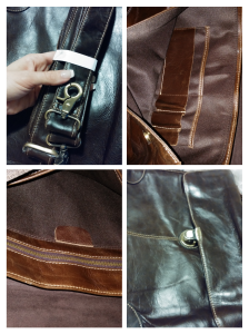 leather messenger bag, Twisted Leather Bags, messenger bag, briefcase, leather briefcase, unisex leather bag